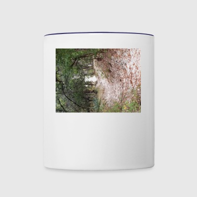 Blurry path of life - Contrast Coffee Mug