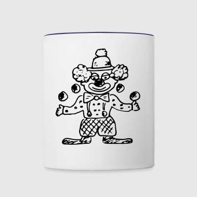 Clown - Contrast Coffee Mug