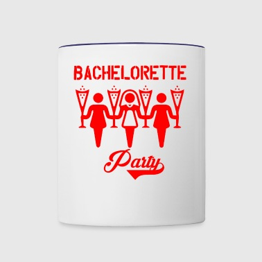 GIFT - BACHELORETTE PARTY RED - Contrast Coffee Mug
