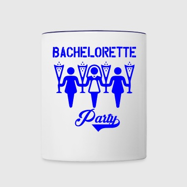 GIFT - BACHELORETTE PARTY BLUE - Contrast Coffee Mug
