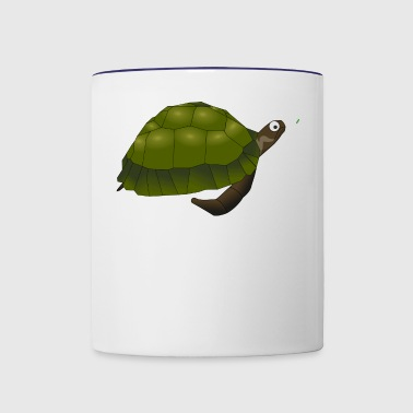 turtle - Contrast Coffee Mug