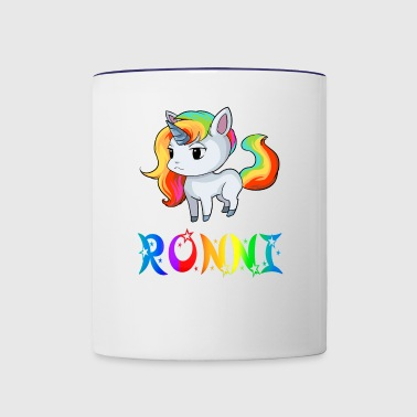 Ronni Unicorn - Contrast Coffee Mug