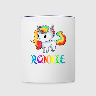 Ronnie Unicorn - Contrast Coffee Mug