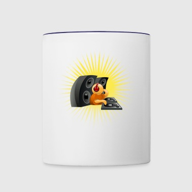 dj - Contrast Coffee Mug