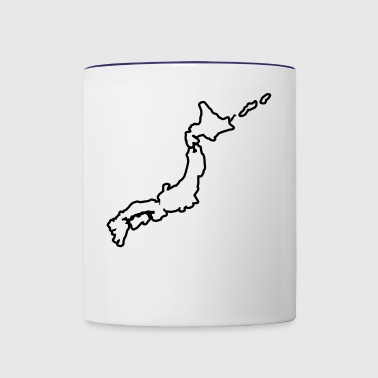Japan - japanese - Contrast Coffee Mug