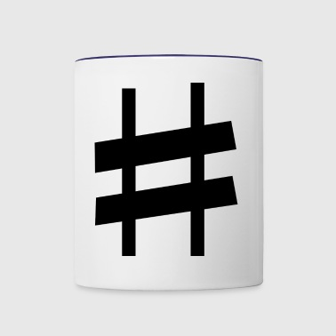 sharp note - Contrast Coffee Mug