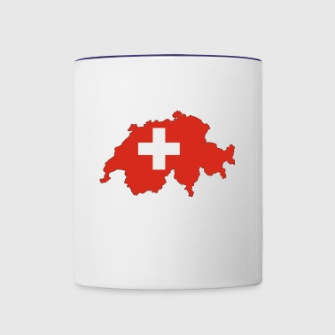 switzerland - Contrast Coffee Mug