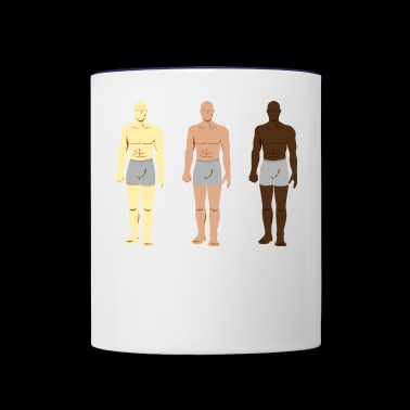 body - Contrast Coffee Mug