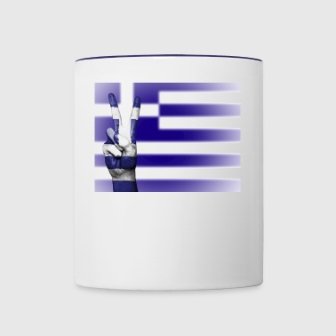greece - Contrast Coffee Mug