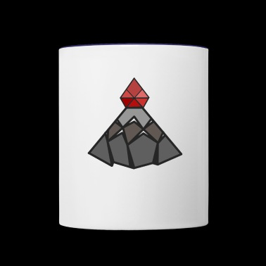 Ruby Peak - Contrast Coffee Mug