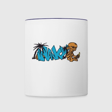 graffiti - Contrast Coffee Mug