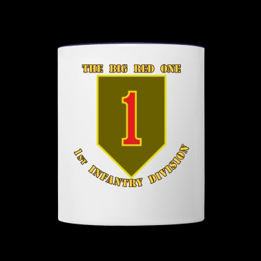 1st Infantry Division - Contrast Coffee Mug