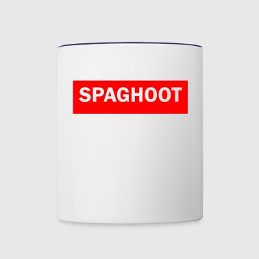 SPAGHOOT - Contrast Coffee Mug