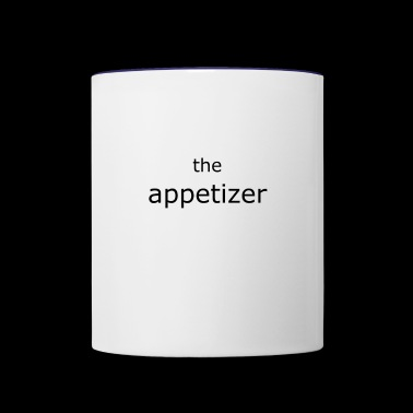 the appetizer schwarz - Contrast Coffee Mug