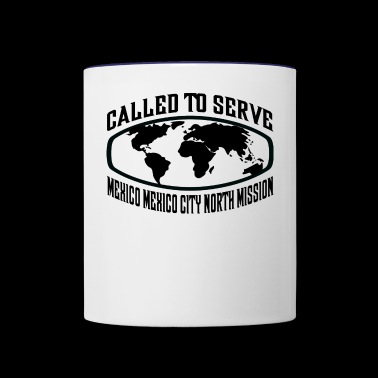 Mexico Mexico City North Mission - LDS Mission - Contrast Coffee Mug