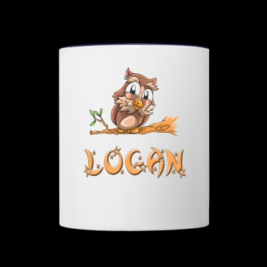 Logan Owl - Contrast Coffee Mug