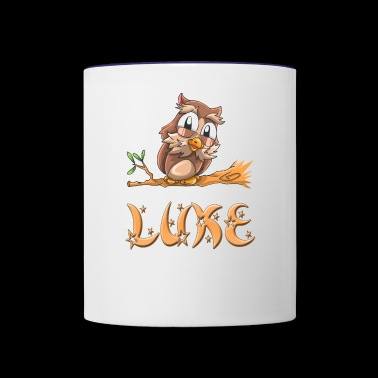 Luke Owl - Contrast Coffee Mug
