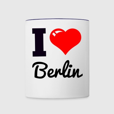 i love berlin - Contrast Coffee Mug
