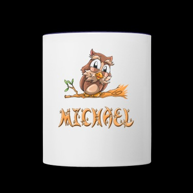 Michael Owl - Contrast Coffee Mug