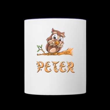 Peter Owl - Contrast Coffee Mug