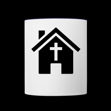 house - Contrast Coffee Mug