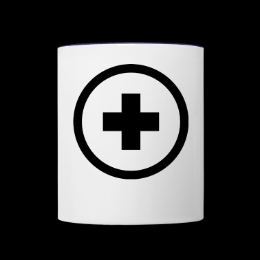 plus - Contrast Coffee Mug