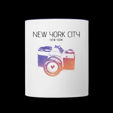 Camera New York City - Contrast Coffee Mug