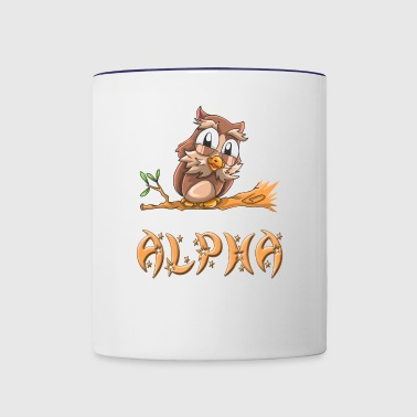 Alpha Owl - Contrast Coffee Mug