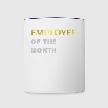 Employee of the month - Contrast Coffee Mug