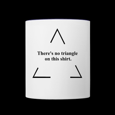No Triangle - Contrast Coffee Mug