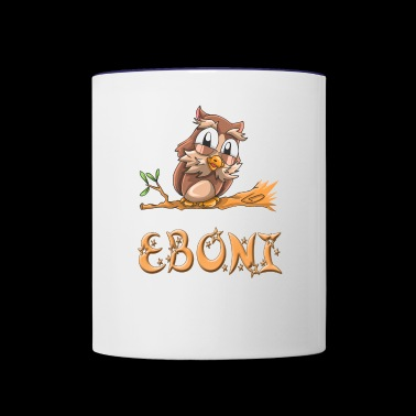 Eboni Owl - Contrast Coffee Mug
