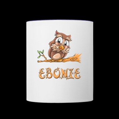 Ebonie Owl - Contrast Coffee Mug
