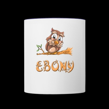 Ebony Owl - Contrast Coffee Mug