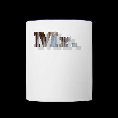Mr. - Contrast Coffee Mug