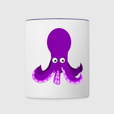 octopus - Contrast Coffee Mug