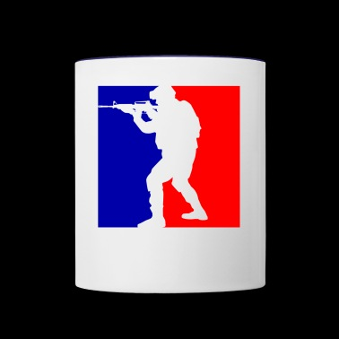 SOLDIER NBA - Contrast Coffee Mug