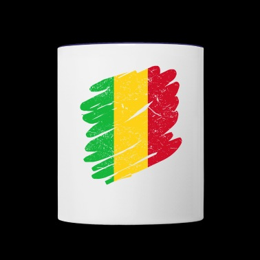 Pinsel Land Heimat Mali - Contrast Coffee Mug