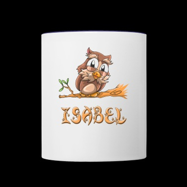 Isabel Owl - Contrast Coffee Mug