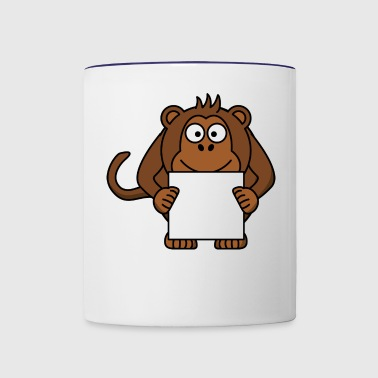 monkey - Contrast Coffee Mug
