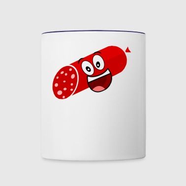 Salami squad gamez lol - Contrast Coffee Mug