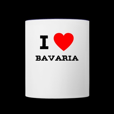 i love bavaria - Contrast Coffee Mug