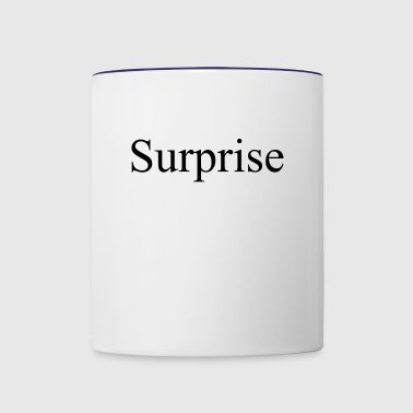 Surprise - Contrast Coffee Mug