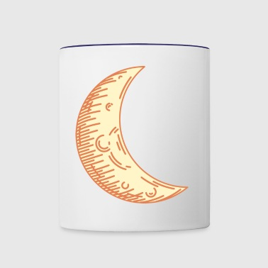 Moon - Contrast Coffee Mug
