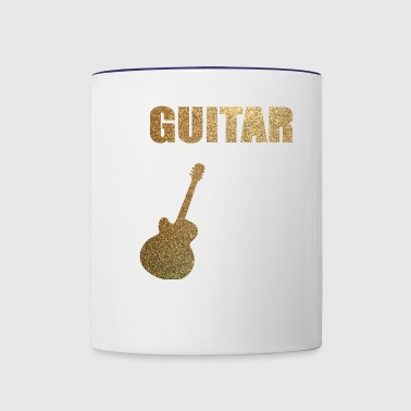 GUITAR - Contrast Coffee Mug