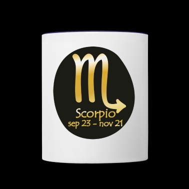 Scorpio Horoscope - Contrast Coffee Mug