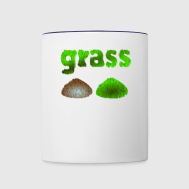 grass - Contrast Coffee Mug