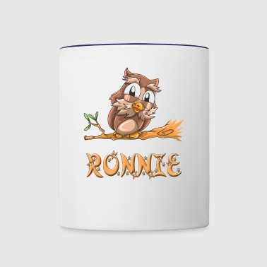 Ronnie Owl - Contrast Coffee Mug