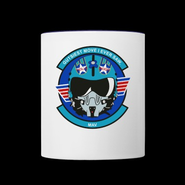 HollyWood Helmet - Contrast Coffee Mug