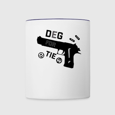 Deg for Tie - Contrast Coffee Mug