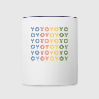 Yoyo Repeat - Contrast Coffee Mug